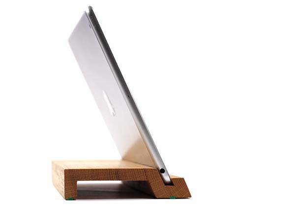 WoodUp Handmade Wooden iPad Stand