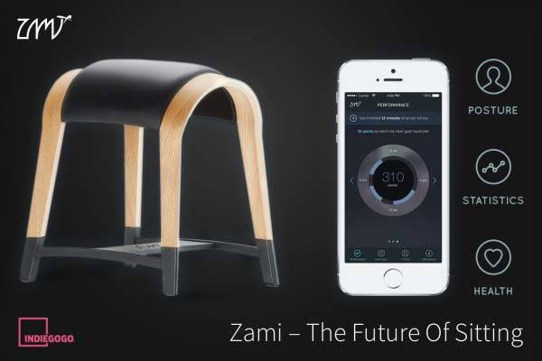 Zami Smart Stool Improves Your Setting Posture