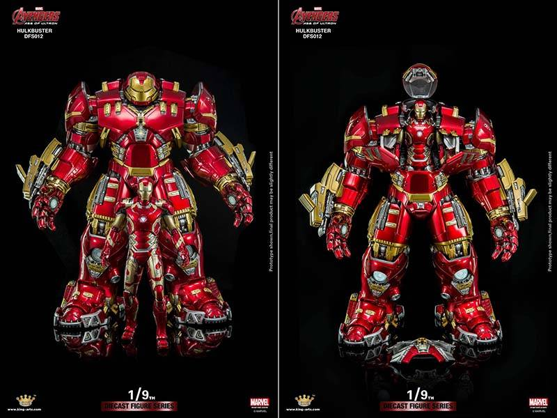 The Hulkbuster Diecast Figure Can Hold A 1 9 Scale Iron