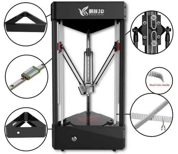 Ares Affordable 3D Printer with CNC and Laser Engraving and 3D Scanning