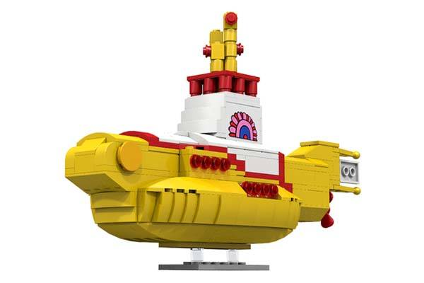 Beatles Yellow Submarine LEGO Set