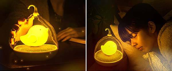 Birdcage USB Night Light