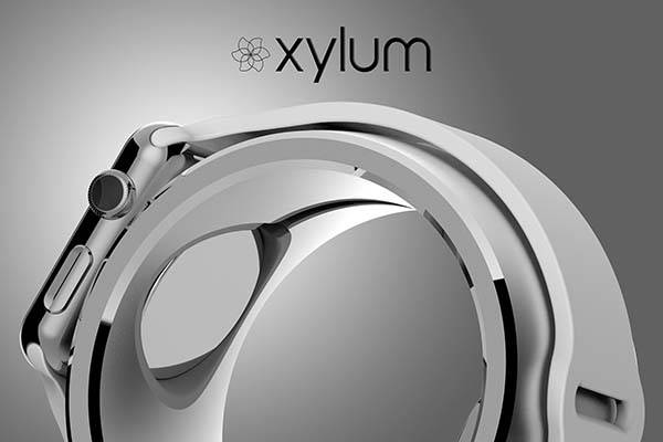 Bulbae Xylum Ring-Shaped Apple Watch Charging Stand