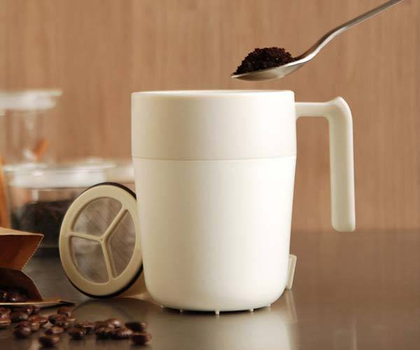 Cafepress Mug Lets You Brew Coffee with Ease