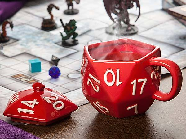 Critical Hit D20 Coffee Mug Gadgetsin