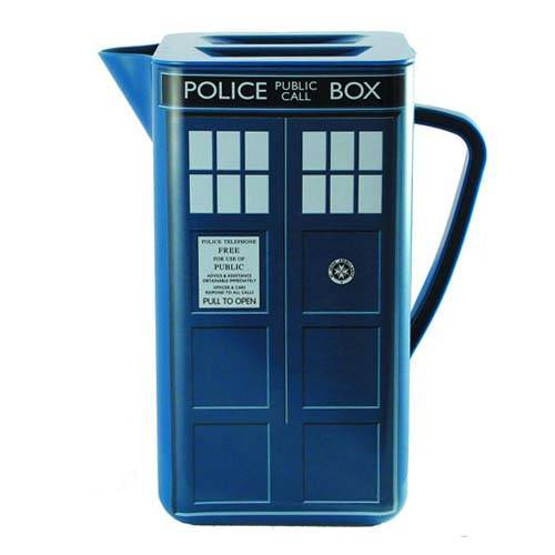 Doctor Who TARDIS Square Pitcher with Lid