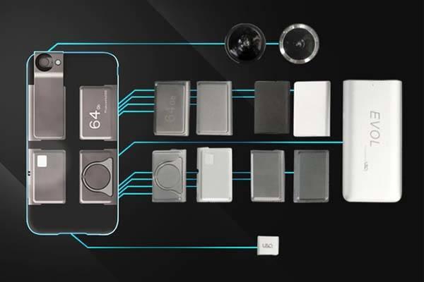 EVOL Modular iPhone Case for iPhone 6/6 Plus