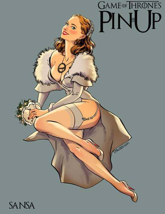 Game of Thrones Pin Ups