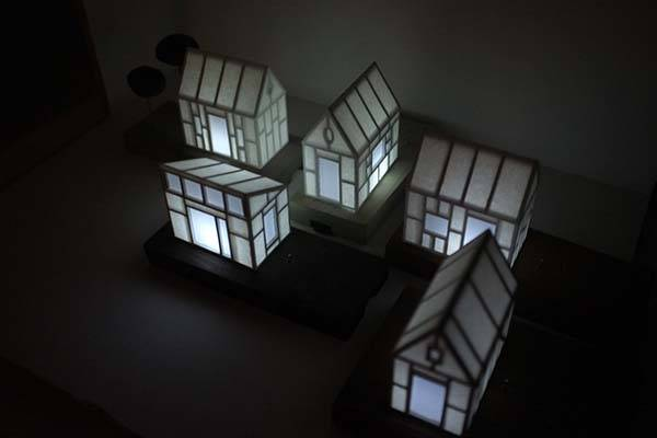 The Handmade Mini House Mood Light