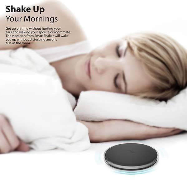 iLuv SmartShaker App-Controlled Bed Alarm Shaker