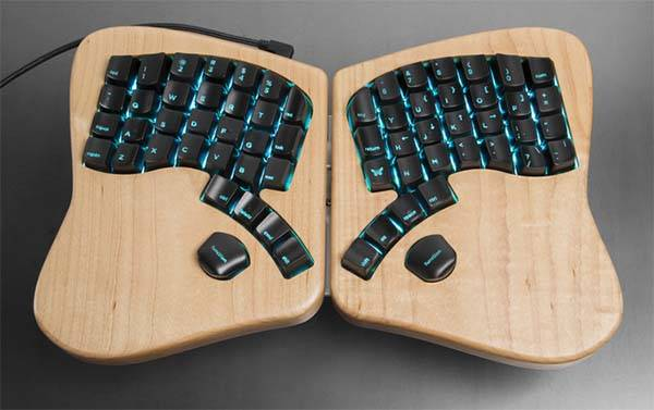 Keyboardio Model 01 Mechanical Keyboard