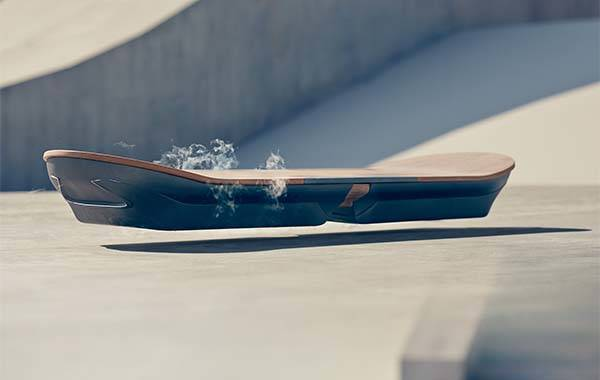 The workable hoverboard developed by Lexus