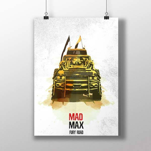 Mad Max Fury Road Poster Set
