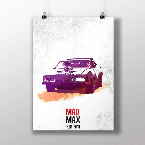 Mad Max Fury Road Poster Set
