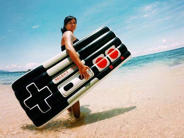 NES Game Controller Inspired Pool Float
