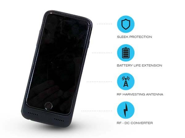 Nikola Phone Case Powers Your Smartphone with Wasted RF Energy