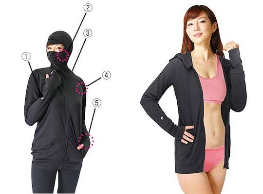 Ninja Parka Lets You Look Like a Ninja