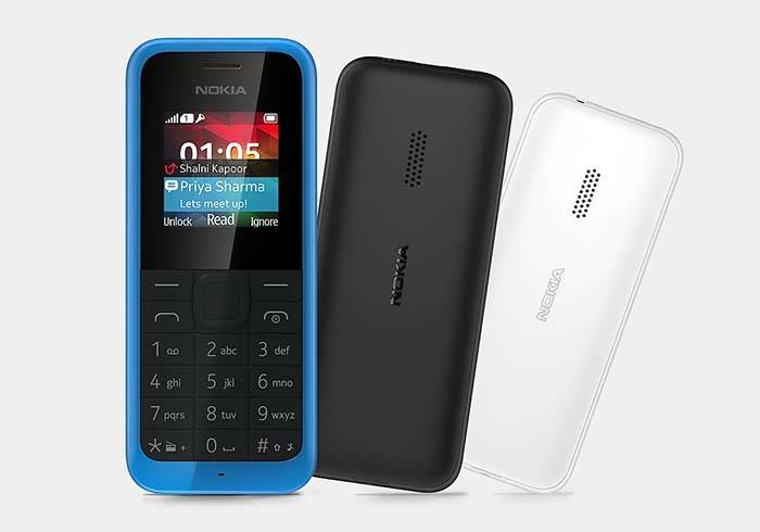 Microsoft Nokia 105 Cell Phone