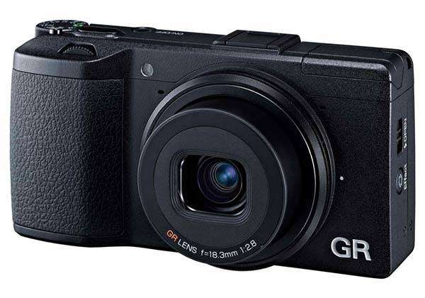 Ricoh GR II Premium Compact Camera with WiFi and NFC