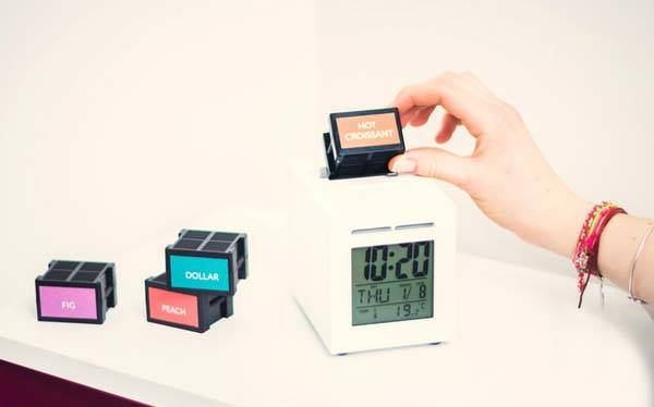 SensorWake Alarm Clock Wakes You Up with Your Favorite Scents