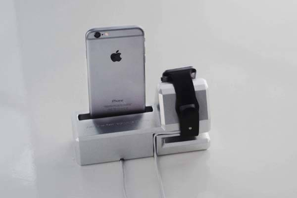 Simple Station Charging Station for Apple Watch and iPhone