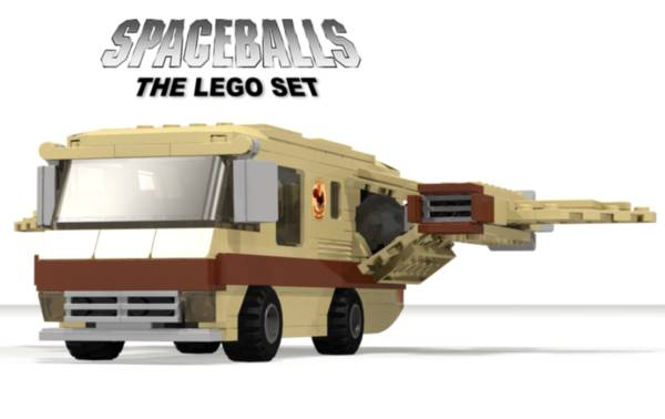 Spaceballs Eagle 5 Spaceship LEGO Set