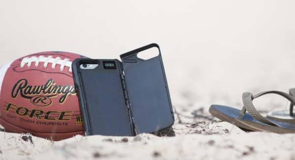 Sunny Solar Powered iPhone 6 Battery Case