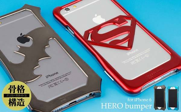 Superhero Symbol iPhone 6 and iPhone 6 Plus Cases