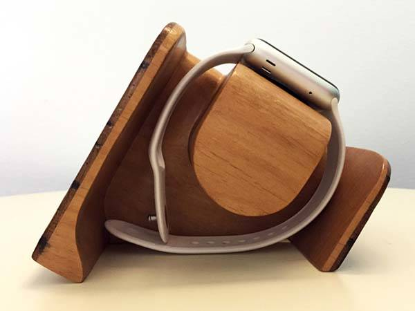 Tanaan Handmade Apple Watch Charging Station