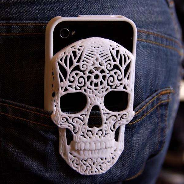 The 3D Printed Skull iPhone 6 and 6 Plus Cases