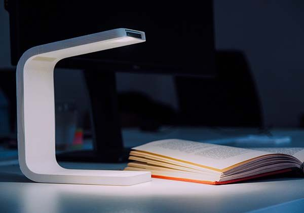 The iPhone Powered Desk Lamp
