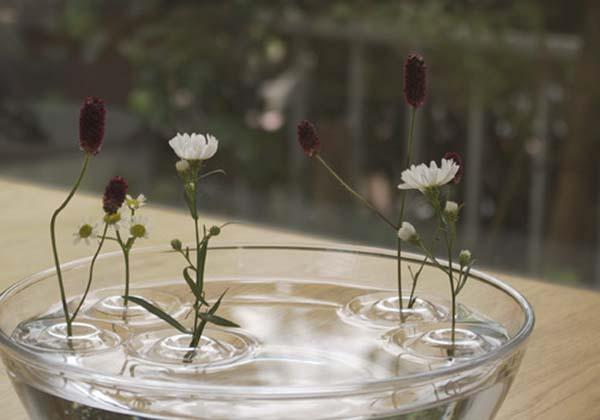 The Ripple Inspired Floating Flower Vase