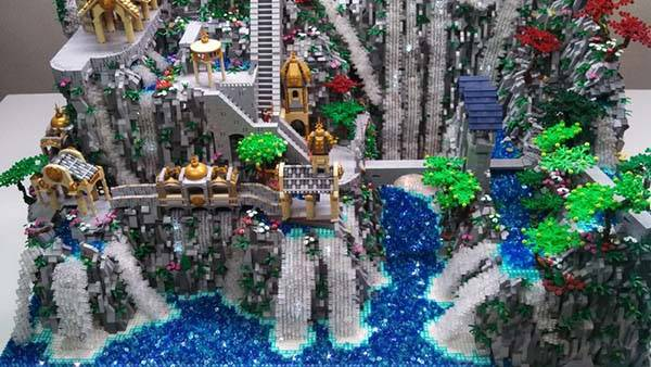 The Hobbit Rivendell LEGO Set