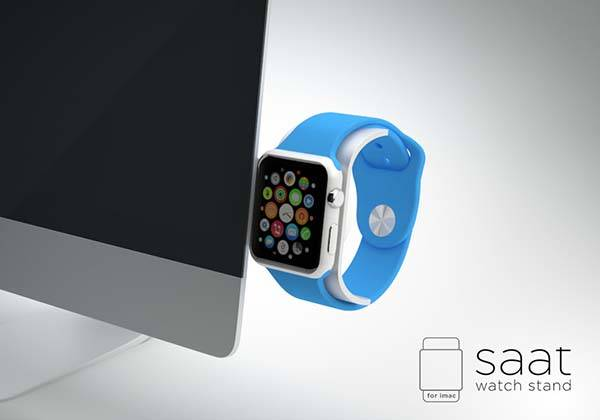 The Modern Apple Watch Charging Stand for iMac