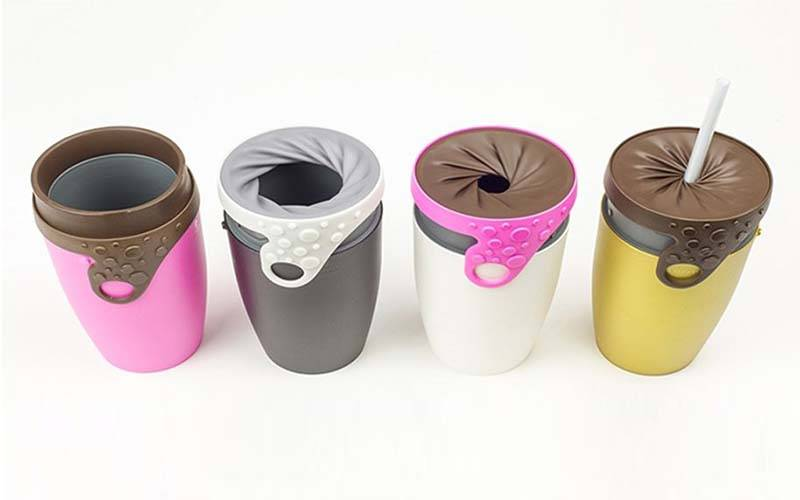 Twist Lid Drink Traveller Iris Inspired Travel Mug