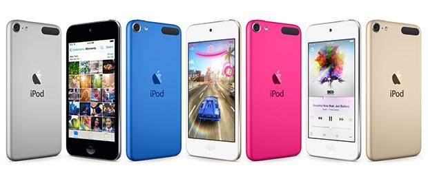 Apple Refeshes iPod Touch 5G