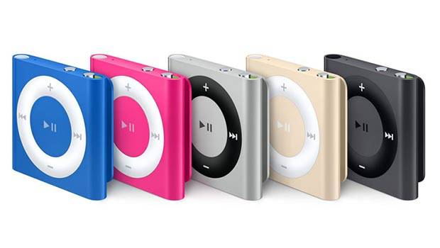 Apple Refeshes iPod Shuffle