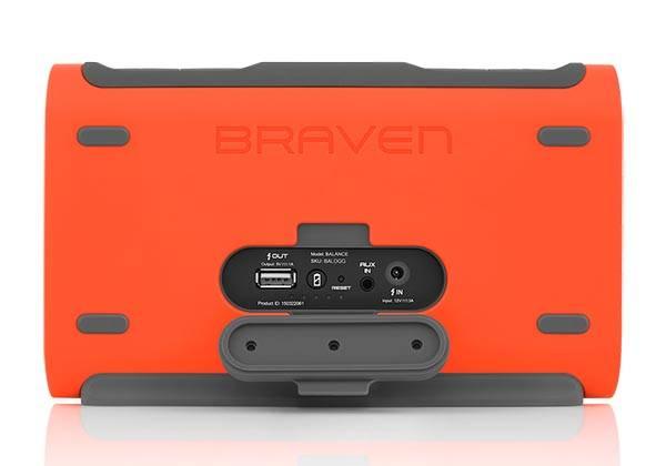 Braven Balance Waterproof Portable Bluetooth Speaker