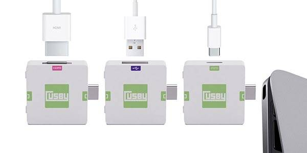 Cusby Modular USB-C MacBook Docking Station
