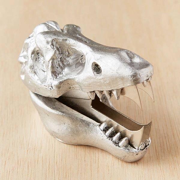 Dinosaur Skull Shaped Staple Remover