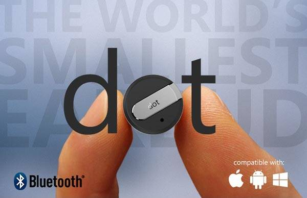 Dot World's Smallest Bluetooth Headset