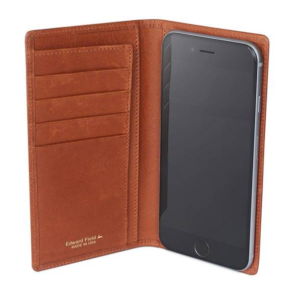 Edward Field Wallet Leather Wallet iPhone 6/6 Plus Case