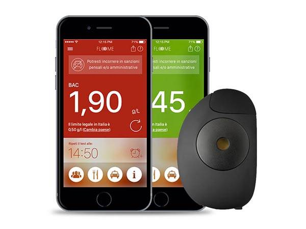 Floome Smartphone Breathalyzer