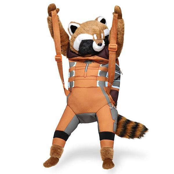 Rocket Raccoon Plush Backpack