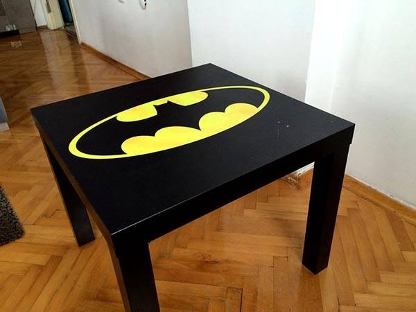 Handmade Batman Coffee Table - Handmade Batman Coffee Table Gadgetsin