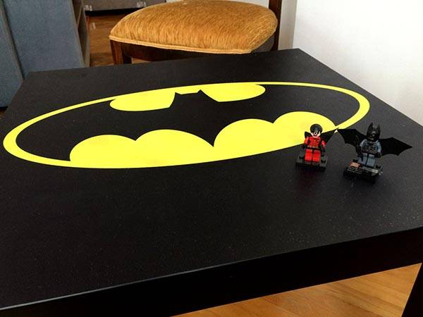 Handmade Batman Coffee Table