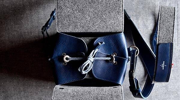 Hard Graft Box Leather Camera Bag