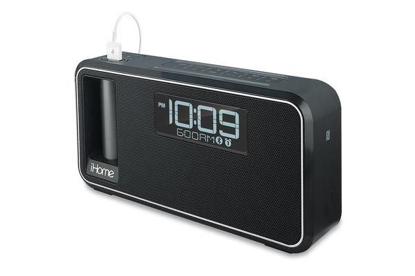 iHome K2 Bluetooth Speaker Featuring Custom Power Bank, Integrated FM Radio and Alarm Clock