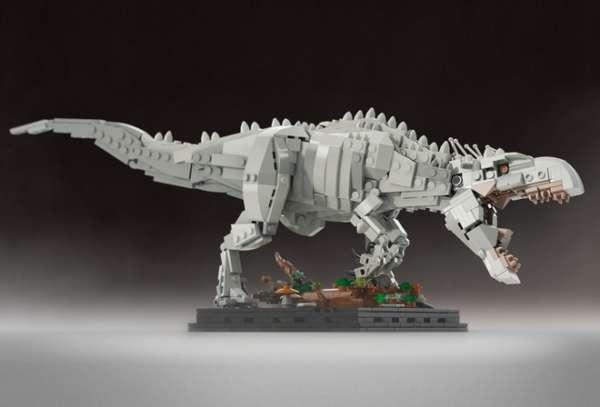 Jurassic World Indominus Rex LEGO Set