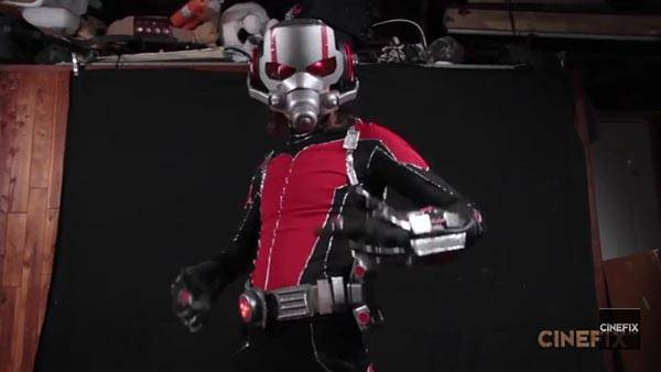 Make Your Own Ant-Man Costume With Everyday Items